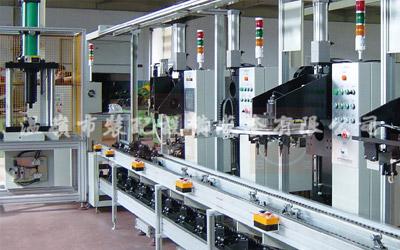 Línea de producción y montaje de freno (abrazadera) y bomba de freno