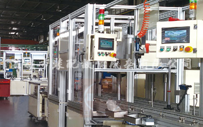 Línea de montaje de piezas del generador del automóvil