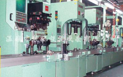 Línea de montaje integral del reductor principal